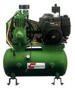 Champion Pneumatic HDR5-3Y Air Compressor 10 Hp Yanmar Diesel Engine Splash Lubricated 30 Gallon Tank