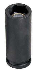 Grey Pneumatic 1016DG 3/8 Inch SAE Deep Magnetic Impact Socket 1/2 Inch