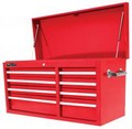 Homak  RD02008410 41 Inch 8 Drawer SE Series Top Chest Red