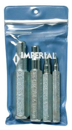 4 Piece Punch Type Swaging Tools 1//4-5//8