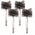 Innovative Products Of America A8037-404 4 Pack 40 Mm Stainless Steel Bore Brush