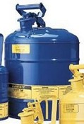 Justrite 10810 Type 1 Safety Can for Kerosene Blue 5 Gallon