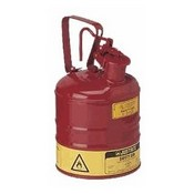 Justrite 7125100 Safety Can 2.5 Gallon Type 1 Red for Flammables