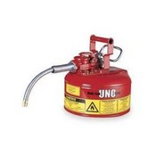Justrite 7210120 Safety Can,type Ii,1 Gallon,Red