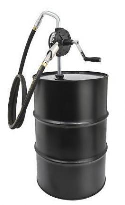 Lincoln Industrial 1387 Rotary Barrel Fuel Pump With Hose