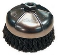 Makita 743208-0A Knot Style Wire Cup Brush - 4In