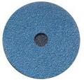 Norton 38583 Fibre Discs 9 1/8 In - 36 Grit - Norzon Blue Stripper