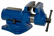"Yost Vises  Ria-4, 4"" Compact Bench Vise With 360° Swivel Base Vise"