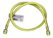 Robinair 19078 36 Yellow Quick-Seal Enviro-Guard Tank Hose R134A