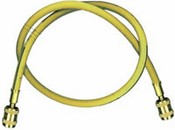 Robinair 19313 36 Yellow Double Quick-Seal Enviro-Guard Tank Hose R134A