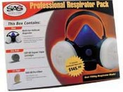 SAS Safety 2600-80 Respirator Professional Packs - Medium