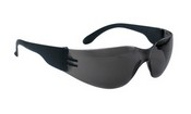 SAS Safety 5343 Crickets Black Temple Gray Lens