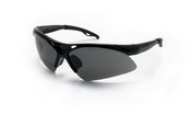 SAS Safety 540-0201 Diamondback Safety Black Frame W/Shade Lens