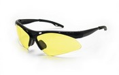 SAS Safety 540-0215 Dia Back Bl Frame Yellow Lens
