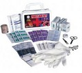 SAS Safety 6025 First Aid Kit - Wall Mounted - 25 Person