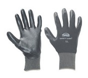 SAS Safety 640-1908 Nylon Nitrile Glove Medium