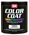 SEM Paints 15511 Color Coat - Fast Yellow, 1 - Gallon
