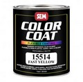 SEM Paints 15514 Color Coat - Fast Yellow, 1 - Quart