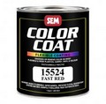 SEM Paints 15524 Color Coat - Fast Red, 1 - Quart