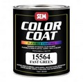 SEM Paints 15564 Color Coat - Fast Green, 1 - Quart