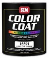 SEM Paints 15591 Color Coat - Yellow Oxide, 1 - Gallon
