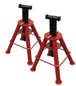 Sunex 1310 Pair of 10 Ton Medium Height Jack Stands