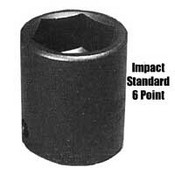 Sunex 462D 3/4 In Dr Impact Socket, 6 Pt, Deep, 1-15/16 In