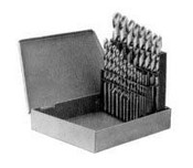 Vermont American 10141 HSS Drill Bit Set - 1/16 - 3/8 In by 64ths - 21-Pc