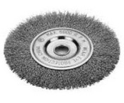 "Victor - Firepower 1423-2327 Wire Wheel Brush, Crimped Type Carbon Steel Wire 4"" Dia. X 1/2"" Wide"