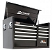 Homak  BK02041091 41in. 9-Drawer Top Tool Chest - Black, 41 1/8in.W x 21 3/4in.D x 24 1/2in.H