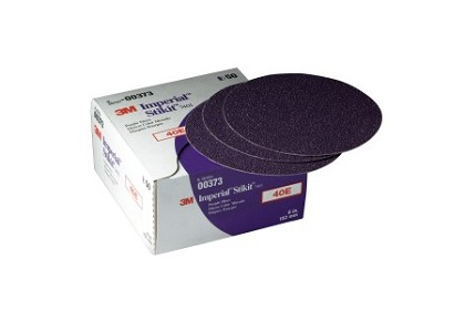 3M 0373 Imperial Stikit Disc, 6 inch, 40 Grit