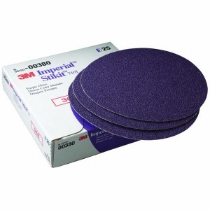 3M 0380 Imperial Stikit Disc, 8 inch, 36 Grit