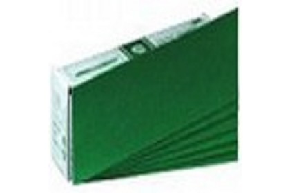 3M 0543 Green Corps Hookit Regalite File Sheet, 36 Grade, 2 3/4 inches x 16 1/2 in