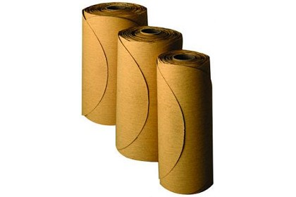 3M 1331 Stikit Gold Film Disc Roll, 6 inch, P120 Grit