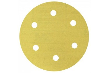 3M 1381 Stikit Gold Film Disc Roll Dust Free, 6 inch, P120 Grit