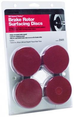 3M 1411 Roloc Brake Rotor Surface Conditioning Disc Refill Pack, 120 Grit