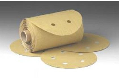3M 1638 Stikit Gold Disc Roll Dust Free, 6 inch, P220 Grit
