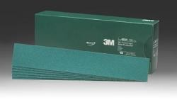 3M 2231 Green Corps Stikit Production File Sheet, 40 Grade, 2 3/4 inches x 16 1/2 in