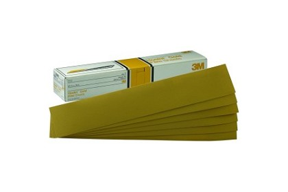 3M 2470 Hookit Gold File Sheet, 180 Grade, 2 3/4 inches x 16 in