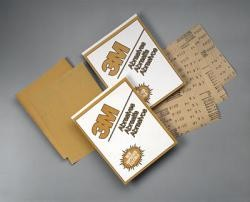 3M 2547 Production Gold Sheet, 120 Grit