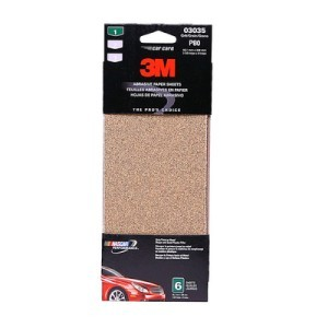 3M 3035 Sandpaper, Medium Grit