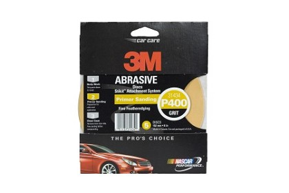 3M 31434 Stikit Gold Disc, 6 inch, P400 Grit