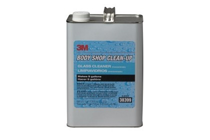 3M 38399 Body Shop Clean-Up Glass Cleaner Concentrate, Gallon
