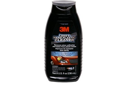 3M 39017 Lens & Hard Plastic Cleaner, 8 Ounce