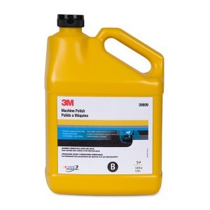 3M 39809 Machine Polish, 1 Gallon