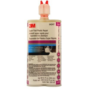 3M 4247 Super Fast Plastic Repair, 200 mL