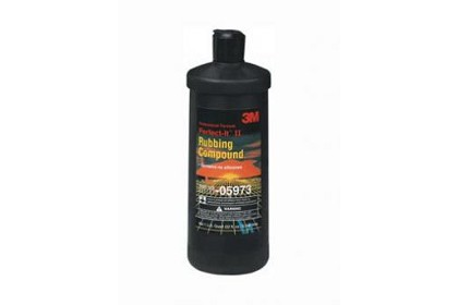 3M 5973 Rubbing Compound, 1 Quart