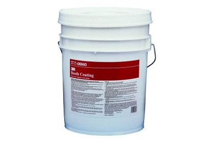 3M 6840 Booth Coating 06840, 5 Gallon