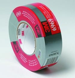 3M 6969Highland Duct Tape, Silver, 2 inch x 60 yard