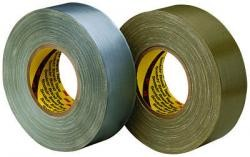 3M 6970Scotch Polyethylene Coated Cloth Tape 390 Olive, 2 inch x 60 yard